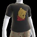 Camiseta con retrato de Pooh