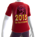 2015 Year of Gaming Red Tee
