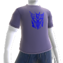 Decepticons - Blaues Logo-T-Shirt