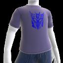 Decepticons ロゴ Tシャツ (青)