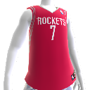 Houston Rockets NBA 2K13-trøje