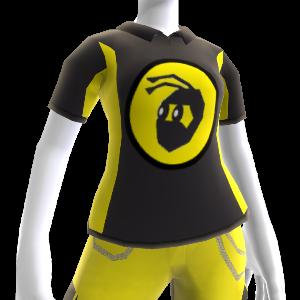 Polo sport noir NinjaBee