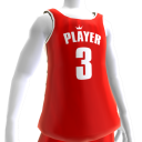 KKZ Red and White Player 3 Jersey
