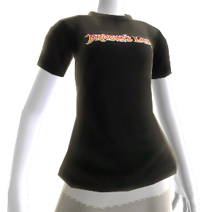 Camiseta con logotipo de Dragon's Lair