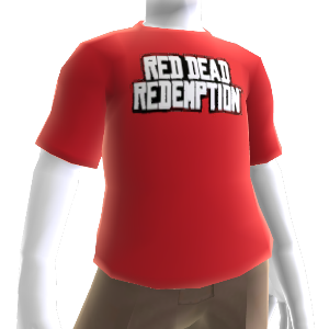 Red Dead Redemption Logoumriss T-Shirt