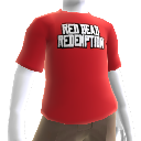 T-Shirt à logo Red Dead Redemption contour
