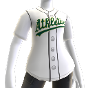 Oakland Athletics  MLB2K10-Trikot