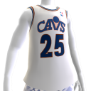 Cavs 89-90 Retro NBA 2K13 Jersey