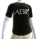 Camiseta Aesir para o Avatar