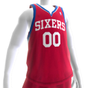 76ers Alternate Jersey
