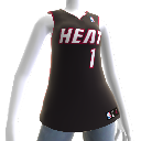 Miami Heat NBA2K12-Trikot