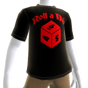 Daggerdale:  D6 TShirt  Male