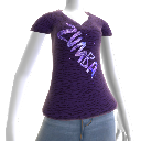 Zumba Glam V-neck Tee
