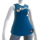 Washington Wizards NBA2K11-Trikot 