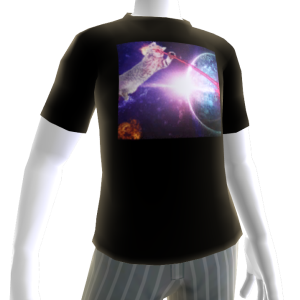 Laser Cat Avatar Shirt 1