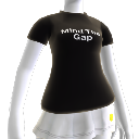 Camiseta negra de Mind the Gap