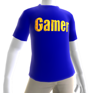 Blue Gamer Gold SS Shirt
