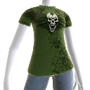 Camiseta com Caveira Trials HD
