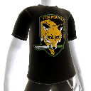 Foxhound Logo de la camiseta