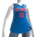 Detroit Pistons NBA2K11 Jersey 