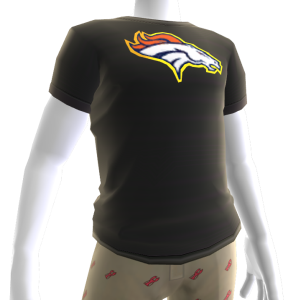 Broncos Gold Trim Tee