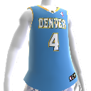 La Jersey de los Denver Nuggets NBA2K12
