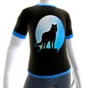 Blue Wolf Howl Shirt 2 BT