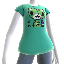 Green Leopard Tee 