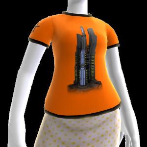 T-shirt de Torre da Agência