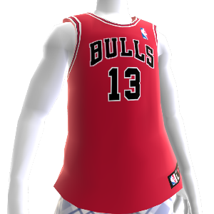 Chicago Bulls NBA2K12 Jersey