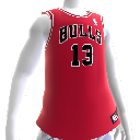 Maillot NBA2K12 Chicago Bulls
