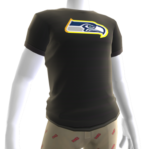 Seahawks Gold Trim Tee