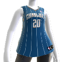 Charlotte Bobcats NBA2K10-Trikot