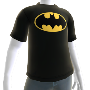 Camiseta com Logotipo do Batman