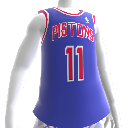 Camiseta NBA 2K13 Pistons 88-89 Retro
