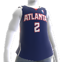 Maglia Atlanta Hawks NBA2K10