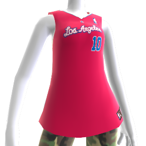 Los Angeles Clippers NBA2K12-Trikot