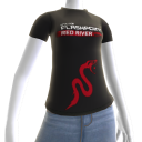 "T-shirt ""Serpent"" Red River"