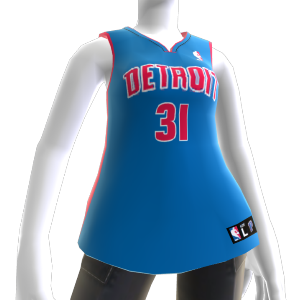 Maillot NBA2K10 Detroit Pistons