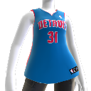 Detroit Pistons NBA2K10 Jersey
