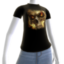 Epic Horror Skull 17 T-Shirt