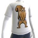 Squirrel Underpants Tee
