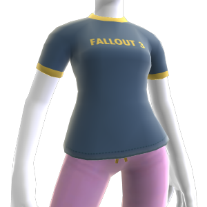 Fallout 3 Ringer Shirt