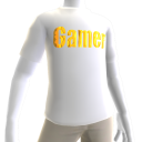 White Gamer Gold SS Shirt