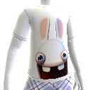 T-Shirt Cara de Rabbid