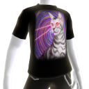 Epic Laser Cat 3 Swirls T-Shirt