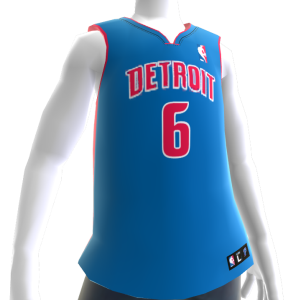 Detroit Pistons NBA 2K14 Jersey