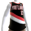 Camiseta NBA 2K13 Portland Blazers
