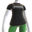 T-shirt com logtipo Mass Effect