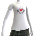 T-shirt com emblema Red Star